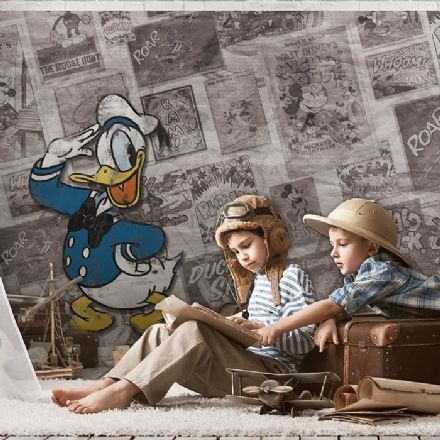 Donald Duck Disney wall mural wallpaper